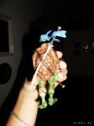 TMNT своими руками, кастомы customs  - Пластилиновый Леонардо (1)2.jpg