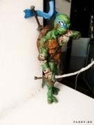 TMNT своими руками, кастомы customs  - Пластилиновый Леонардо (1)1.jpg