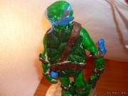 TMNT своими руками, кастомы customs  - Пластилиновый Леонардо (1.5).jpg