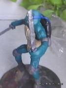 TMNT своими руками, кастомы customs  - Пластилиновый Леонардо (1.3).jpg