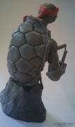 TMNT своими руками, кастомы customs  - Пластилиновый Микеланджело (2).jpg