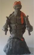 TMNT своими руками, кастомы customs  - Пластилиновый Микеланджело (1).jpg