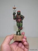 TMNT своими руками, кастомы customs  - Пластилиновый Рафаэль (8).jpg