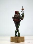 TMNT своими руками, кастомы customs  - Пластилиновый Рафаэль (7).jpg