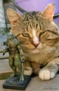 TMNT своими руками, кастомы customs  - Пластилиновый Леонардо (6).jpg
