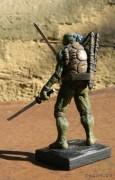 TMNT своими руками, кастомы customs  - Пластилиновый Леонардо (5).jpg