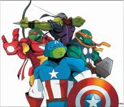 Зарубежный Фан-Арт - TMNT-Avengers.png