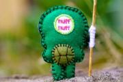TMNT своими руками, кастомы customs  - Felt Donatello - TMNT - Pocket Plush Toy (2).jpg
