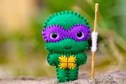 TMNT своими руками, кастомы customs  - Felt Donatello - TMNT - Pocket Plush Toy (1).jpg
