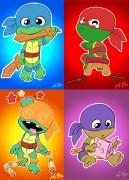 Зарубежный Фан-Арт - toddler_mutant_ninja_turtles_by_kevinbolk-d2y6owy.jpg