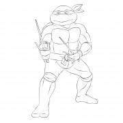 TMNT рисунки от Michelangelo - Raph_sai1.jpg