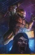 Зарубежный Фан-Арт - TMNT vs Zombies - Mike.JPG