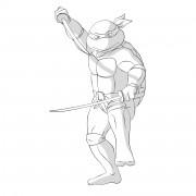 TMNT рисунки от Michelangelo - Leo_katana_1_shade.jpg