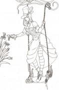 Рисунки на пергаменте - Tea Time.jpg