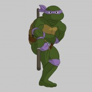 TMNT рисунки от Michelangelo - Don_bo_4_coloured.jpg