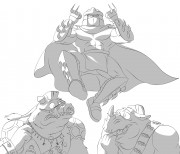 TMNT рисунки от Michelangelo - epic_fail_shade.jpg