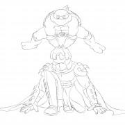 TMNT рисунки от Michelangelo - Mike_jump.jpg