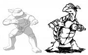 TMNT рисунки от Michelangelo - Mike_Laird_shade.jpg