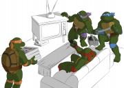 TMNT рисунки от Michelangelo - Party_coloured.jpg