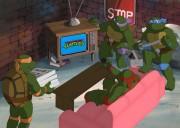 TMNT рисунки от Michelangelo - Party_background.jpg