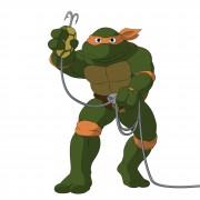 TMNT рисунки от Michelangelo - Mike_rope_coloured.jpg