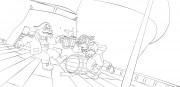 TMNT рисунки от Michelangelo - Bebop_Rocksteady.jpg