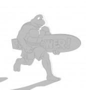 TMNT рисунки от Michelangelo - Radical_dude_shade.jpg