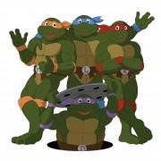 TMNT рисунки от Michelangelo - turtles_shade_coloured.jpg