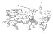 TMNT рисунки от Michelangelo - Turtles_shade.jpg