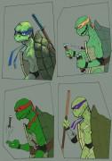 TMNT рисунки от Kataoko - братья.jpg