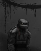TMNT рисунки от Kataoko - в темноте.jpg