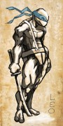TMNT рисунки от Kataoko - леонардо6.jpg