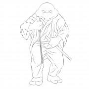 TMNT рисунки от Michelangelo - Zatoichi.jpg
