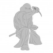 TMNT рисунки от Michelangelo - Iaido_shade.jpg