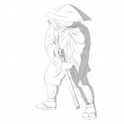 TMNT рисунки от Michelangelo - Yamabushi_shade.jpg