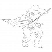 TMNT рисунки от Michelangelo - Zatoichi_1.jpg