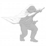 TMNT рисунки от Michelangelo - Zatoichi_1_shade.jpg