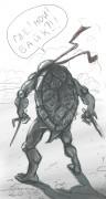 TMNT рисунки от Kataoko - где мой байк!.jpg