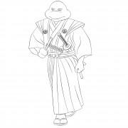 TMNT рисунки от Michelangelo - Samurai.jpg