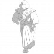 TMNT рисунки от Michelangelo - Samurai_shade.jpg