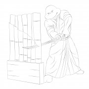 TMNT рисунки от Michelangelo - tameshigiri.jpg