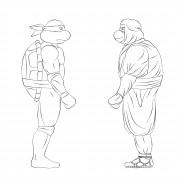 TMNT рисунки от Michelangelo - Shinobi.jpg