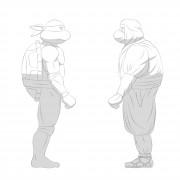 TMNT рисунки от Michelangelo - Shinobi_shade.jpg