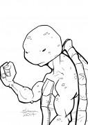 TMNT рисунки от Kataoko - Леолайн.JPG