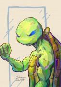 TMNT рисунки от Kataoko - Лео.jpg