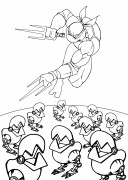 TMNT рисунки от Van :  - 2014.02.26_Raphael.jpg