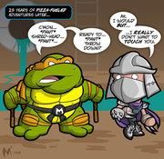Зарубежный Фан-Арт - mike and shredder.jpg