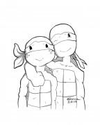 TMNT рисунки от Kataoko - контр.jpg