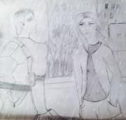 TMNT рисунки от Винсинг - рисунок карандаш.jpg