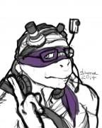 TMNT рисунки от Kataoko - Донни2014.jpg